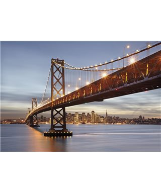 PHOTOMURAL BAY BRIDGE