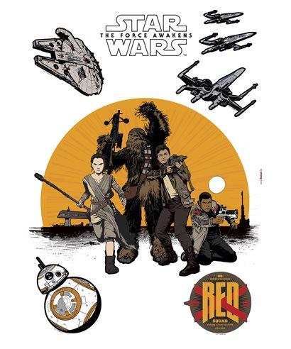WALL TATTOO STAR WARS RESISTANCE