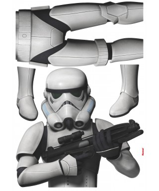 TATOO MURAL STAR WARS STORMTROOPER