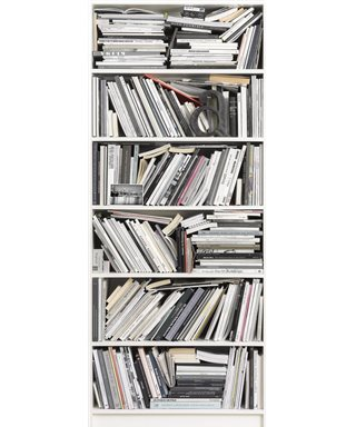 POSTER FOTOGRAFICO BOOKCASE