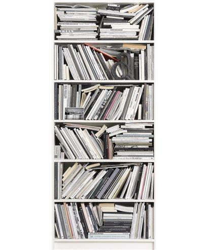 PHOTO MURALE BOOKCASE