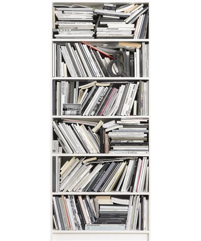 PHOTOMURAL BOOKCASE