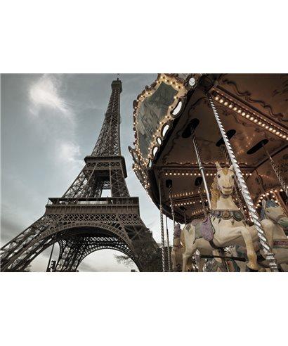 POSTER FOTOGRAFICO CARROUSEL DE PARIS