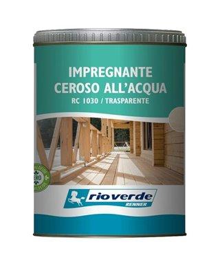 LA IMPREGNACIÓN DE UNA CERA DE AGUA-RENNER RC1030 TRANSPARENTE