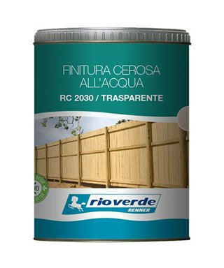 FINITURA CEROSA RENNER RC2030 TRASPARENTE 0,750lt.