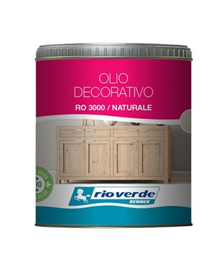 OIL DECORATIVE RENNER RO3000 NATURAL 0,500 lt.