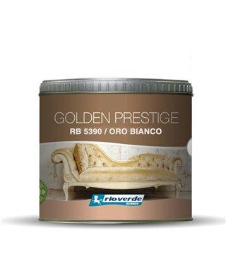 PINTURA DECORATIVA DE ORO PRESTIGIO RENNER ORO BLANCO RB5390