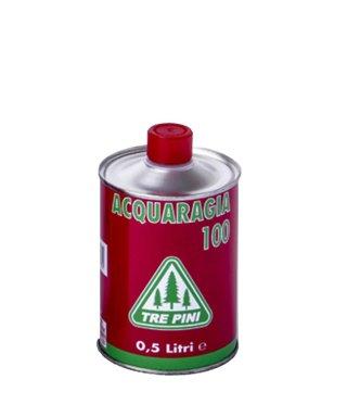 SOLVANT de l'essence de TÉRÉBENTHINE 100 TROIS PINS 0,5 lt.