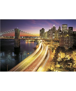 POSTER FOTOMURALE NEW YORK CITY LIGHTS