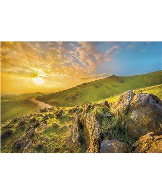 POSTER FOTOMURALE MOUNTAIN MORNING