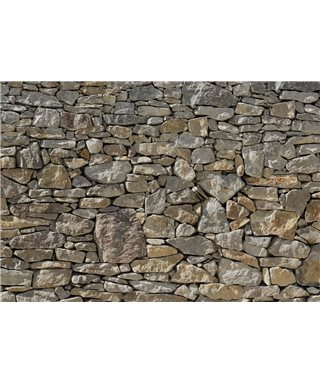 POSTER FOTOMURALE STONE WALL