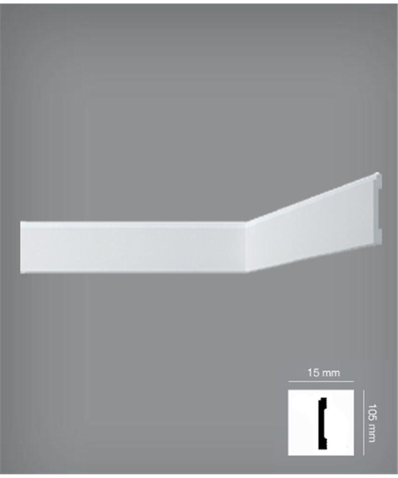les plinthes dans une haute densit de polym res extrud s bovelacci nf110. Black Bedroom Furniture Sets. Home Design Ideas