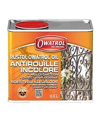 OWATROL OIL ANTIRUGGINE BLOCCANTE MULTIFUNZIONE 0,5LT.
