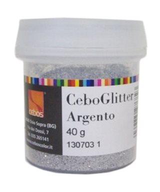 CEBOGLITTER ARGENTO 40gr.
