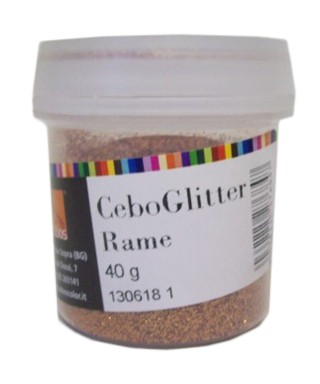 CEBOGLITTER COPPER 40gr.