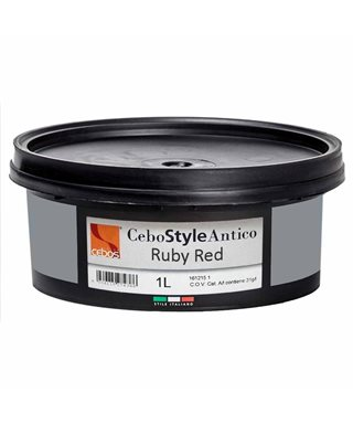 CEBOS CEBOSTYLE ANTIQUE RUBY RED 1lt.