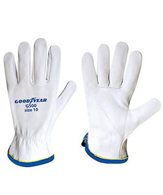 GLOVES LEATHER GOODYEAR G500