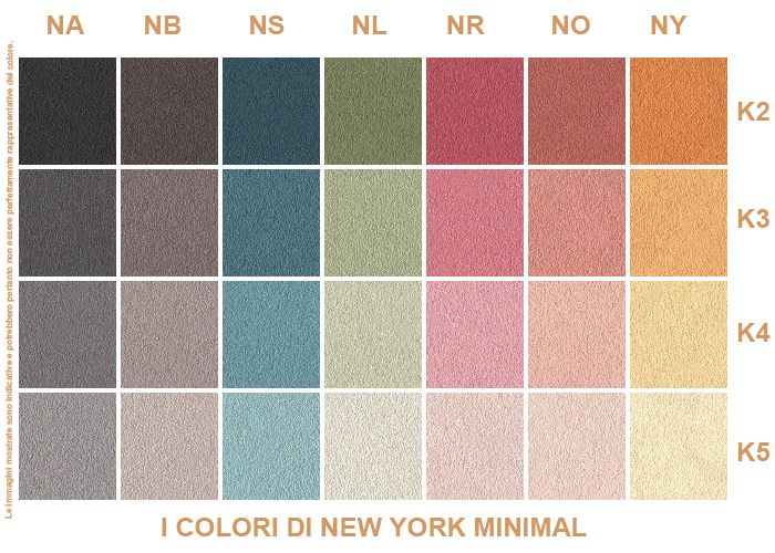 I COLORI DI NEW YORK
