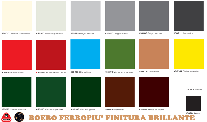 Cartella colori boero per interni - Colori per interno ...