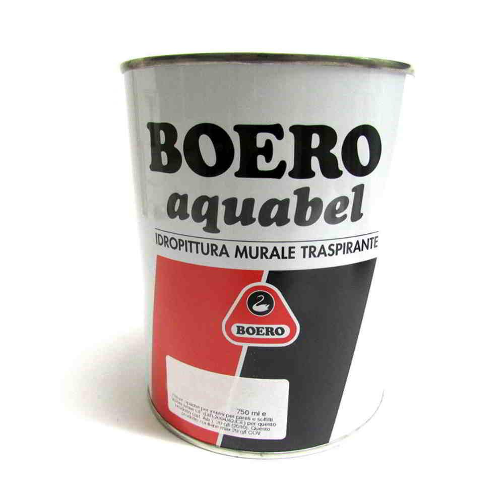 Boero aquabel idropittura traspirante idrorepellente per for Idropittura termoisolante boero