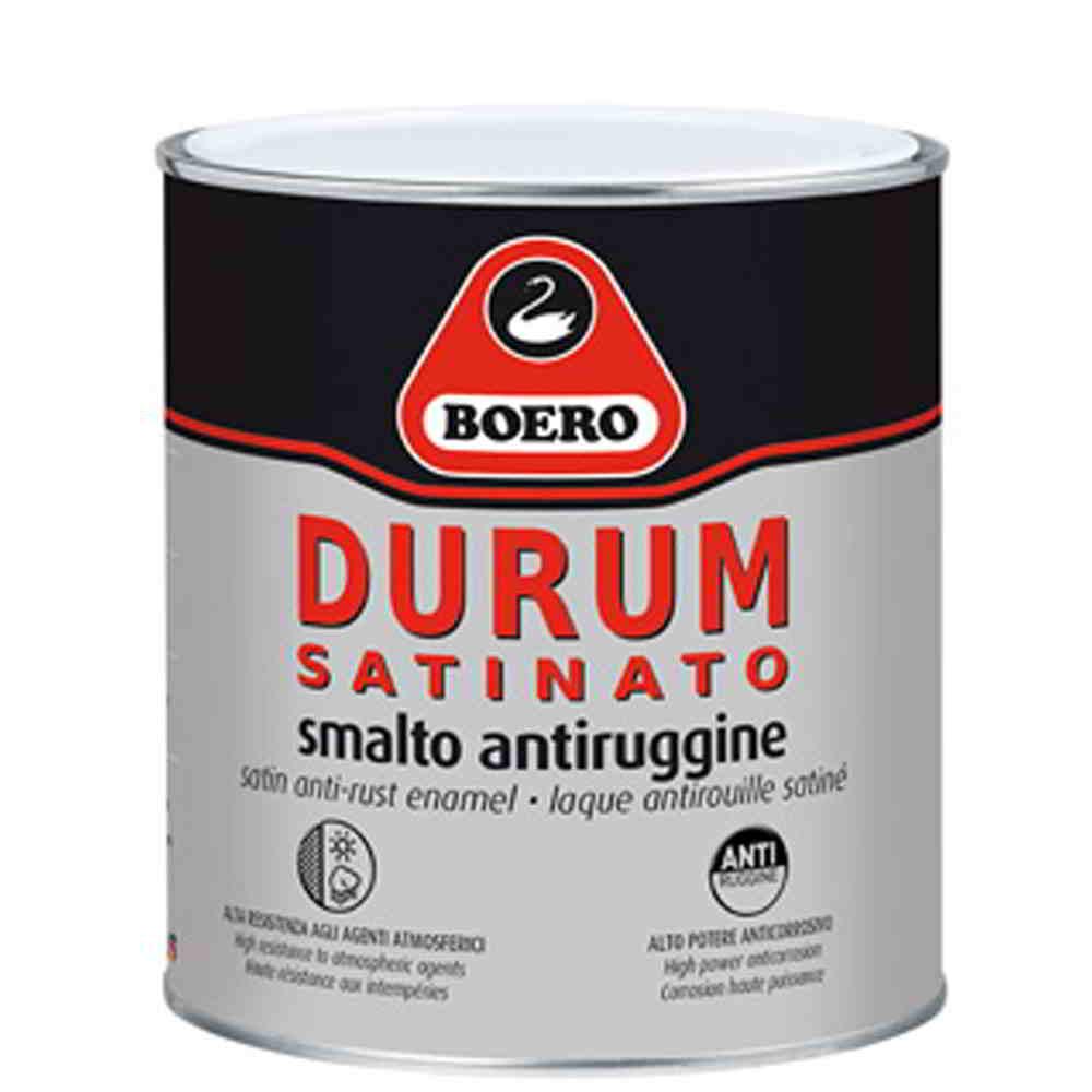 Boero durum smalto antiruggine satinato resistente all for Idropittura termoisolante boero