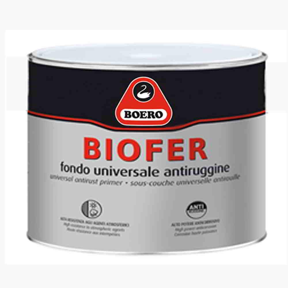 Boero biofer anticorrosiva alchidica con pigmenti e for Idropittura termoisolante boero